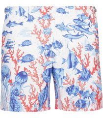 orlebar brown under sea print shorts