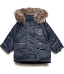 nmmmalik parka jacket 1fo gevoerd jack blauw name it