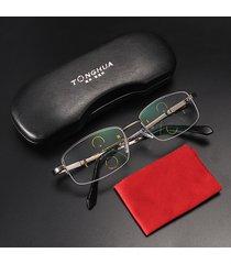 occhiali da lettura intelligenti lente multi-focus progressiva occhiali anti-radiazioni per presbiopia eye care
