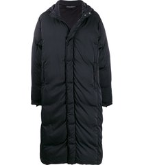 1017 alyx 9sm long-line padded coat - black