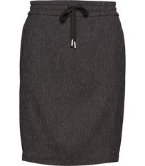 gudrun skirt kort kjol grå inwear