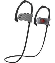 audífonos bluetooth estéreo hd manos libres deportivos, q9 auriculares de música smart sport audifonos bluetooth manos libres  headset (gris)