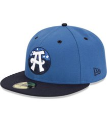 new era asheville tourists ac 59fifty fitted cap