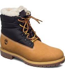 6 heritage puffer bt wl shoes boots winter boots brun timberland