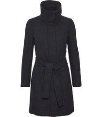 inwear 30104603 zeolaiw zip coat solid marine blue