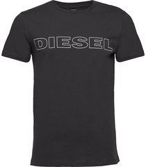 umlt-jake t-shirt t-shirts short-sleeved svart diesel men