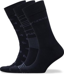 socks underwear socks regular socks multi/mönstrad emporio armani
