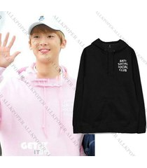 kpop astro summer vibes sanha same style cap hoodie sweater unisex sweatershirt