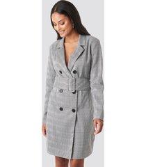 rut&circle vendela blazer dress - grey