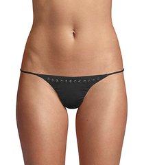 embellished bikini bottom