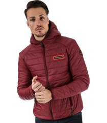 mens grizzly hooded puffer jacket