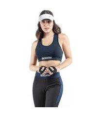 top esportivo feminino estampa endorfina