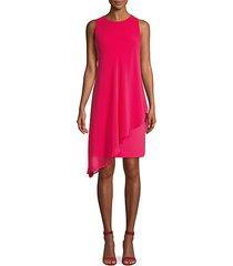 layered scuba dress