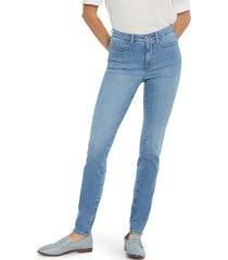 nydj ami high waist skinny jeans, size 18 p in clean brookes at nordstrom