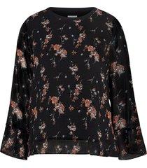 topp boheme chiffon blouse