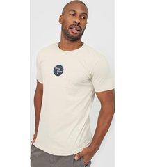 camiseta hang loose loose vinil cinza - cinza - masculino - dafiti