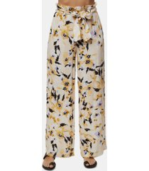 o'neill juniors' alli floral-print soft pants