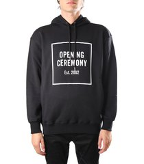 opening ceremony hooded sweatshirt with front logo