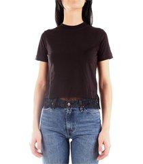 calvin klein j20j213017 t-shirt women black