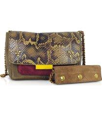 jerome dreyfuss designer handbags, lulu s africa caviar leather shoulder bag