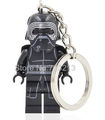 sa 1 pc kylo ren star wars figure key chain ring minifigure blocks lego toys