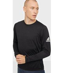 adidas sport performance fl_spr x bos ls tränings t-shirts black