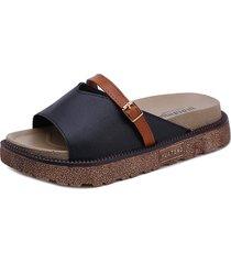 calzado romano sandalias gruesas y zapatillas