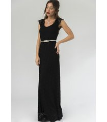 vestido negro florencia casarsa nikka dress