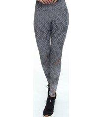 calça legging rola moça marajo feminina