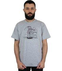 camiseta ventura polarbears cinza mescla - kanui