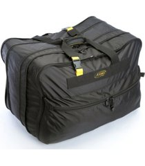 "a. saks 26"" expandable soft suitcase"