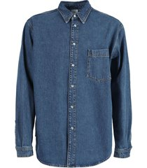 classic button down denim shirt