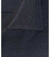 profuomo overhemd navy twill one piece ml7 slim fit