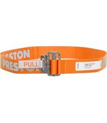 heron preston reflective belt