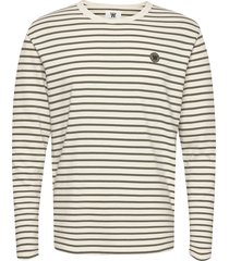 mel long sleeve t-shirts long-sleeved crème wood wood