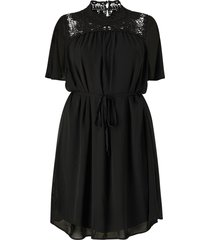 klänning carcatty bat wing knee dress
