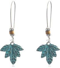 orecchini pendenti in acero della boemia orecchini in lega vintage orecchini da donna stile lungo