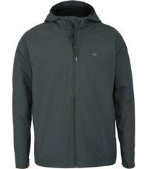 wolverine men's i-90 rain jacket granite, size m
