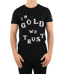 in gold we trust western t-shirt