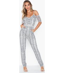 maya all over embellished jumpsuit jumpsuits