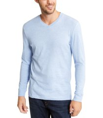 club room men's v-neck long sleeve t-shirt, created for macy's