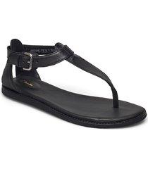 karsea post shoes summer shoes flat sandals svart clarks
