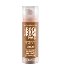base líquida matte hd 30ml 7 marcia - boca rosa beauty by payot único