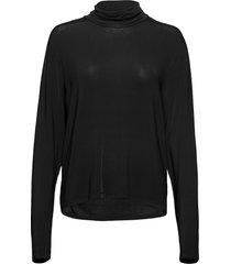 peep ls tee blouse lange mouwen zwart hope
