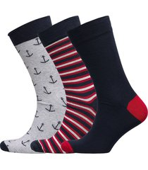 barbour nautic sock gs underwear socks regular socks multi/mönstrad barbour