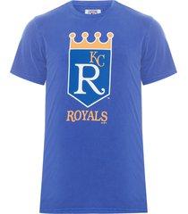 camiseta masculina 26 retro kanroy - azul