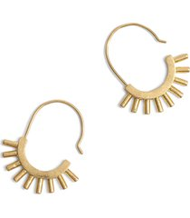women's madewell succulent earrings