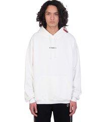 vetements sweatshirt in white cotton