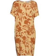 lori stencil dress jurk knielengte multi/patroon mos mosh