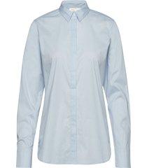 venus shirt overhemd met lange mouwen blauw inwear